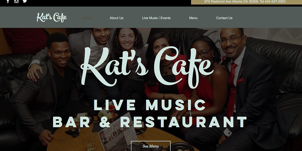 Open mic at Kat's Café