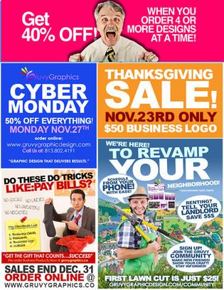 newsletter ad design