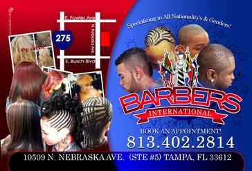 Barber Postcard