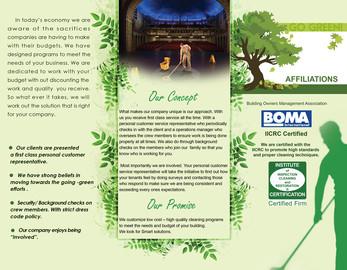 Service Brochure Design