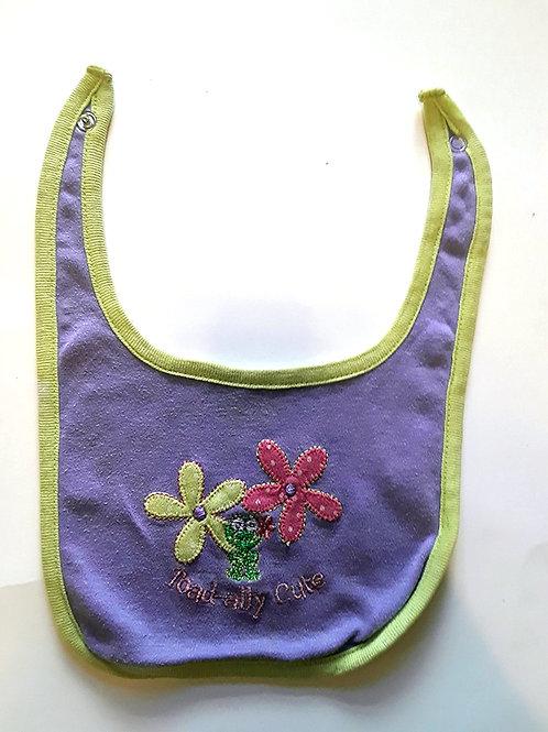 Flower Pedal Baby Bib