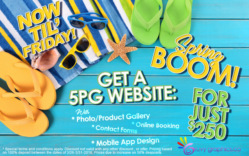 Ad Design @ Gruvy Graphics Co.