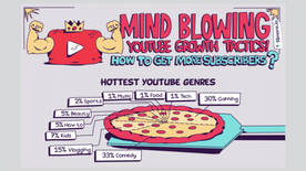 Getting YouTube Subscribers Doesn't Have to be Hard: Read These 8 Tips (INFOGRAPHIC)