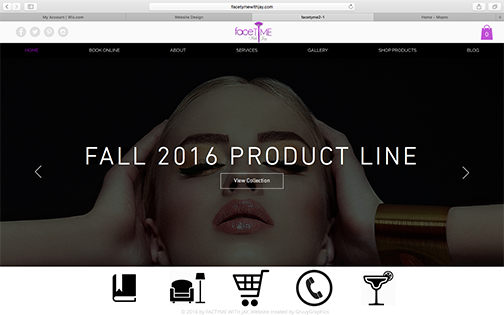 fashion website design