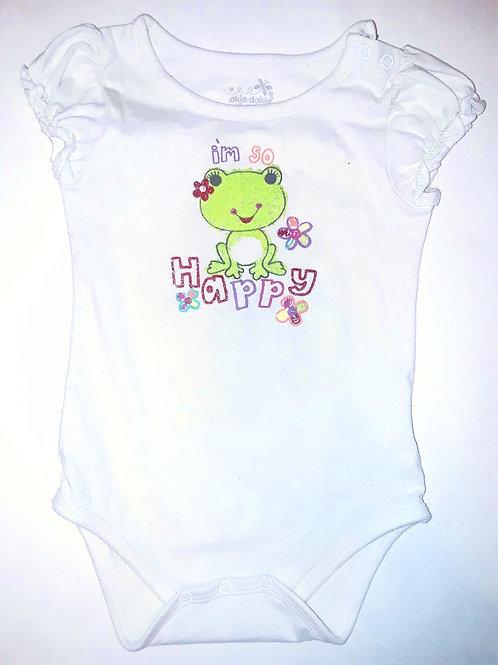 """""""Happy Frog"""" Onesie"""