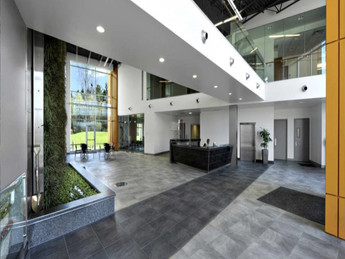 Expanded View of Lobby and Green-space