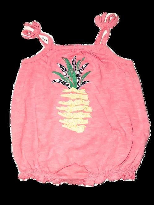 Spaghetti Strap Pineapple Onesie
