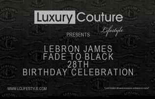 Celebrity Invite