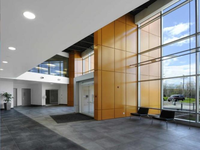 Main Building Entrance mezzanine Level