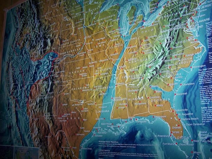 Leaked US NAVY MAP Of The Not To Distant Future United States - Us navy future map