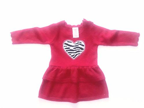 Heart Sweater Dress