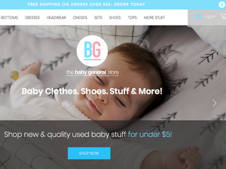 Online Baby Clothes Website