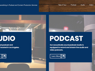 Media Studio Website