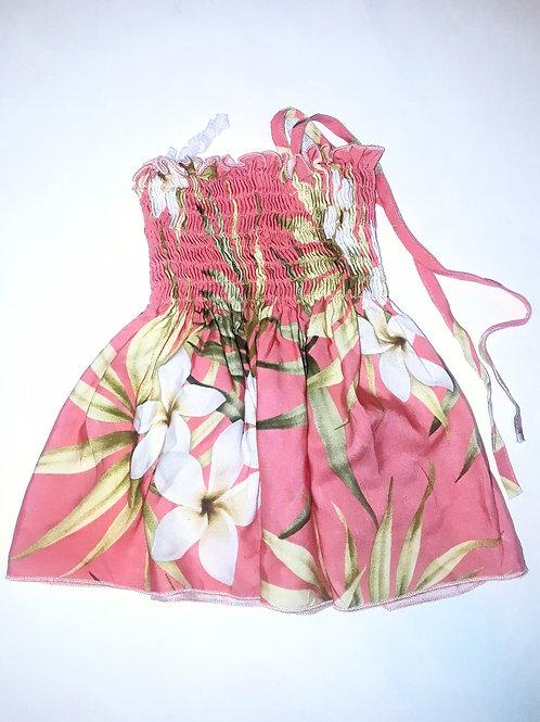 Flower Halter Top Dress