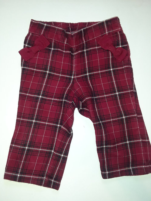 Plaid Baby Pants