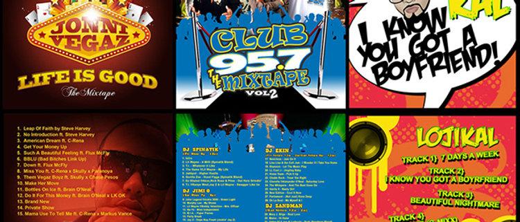 I will design a Fun CD Mixtape Cover