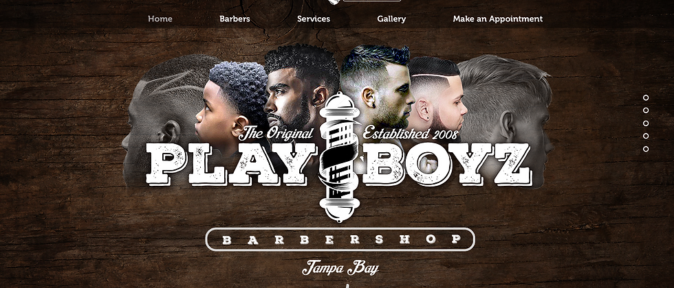Barber & Beauty Website