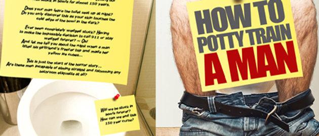 I will design a humored book cover