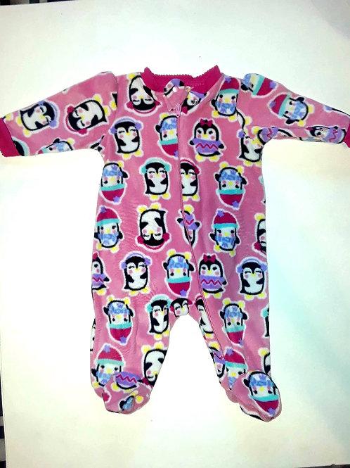 """""""Penguin"""" Baby Pajamas"""