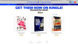 New books by author Charlene K Williams designed by Gruvy Graphics! Available On Amazon!