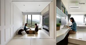 《設計案例》禪意智能家,緩和急促的都市節奏