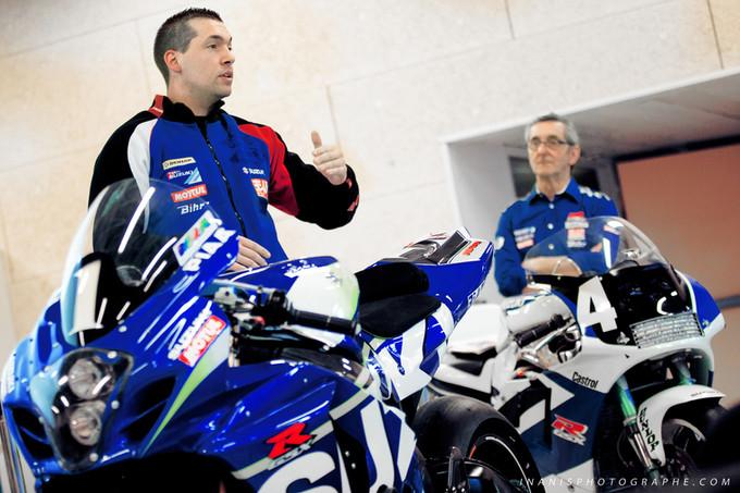 Suzuki SERT (champion moto endurance '16) chez GARAC