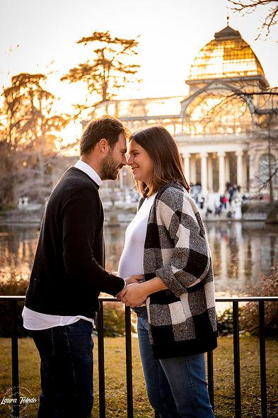 estudio de fotografia natural en madrid sesion de embarazo