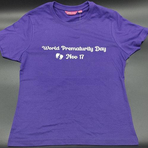 World Prematurity Day Shirt - Womens