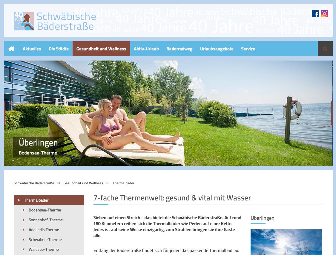 Therme Überlingen, Thermalbad, Sauna