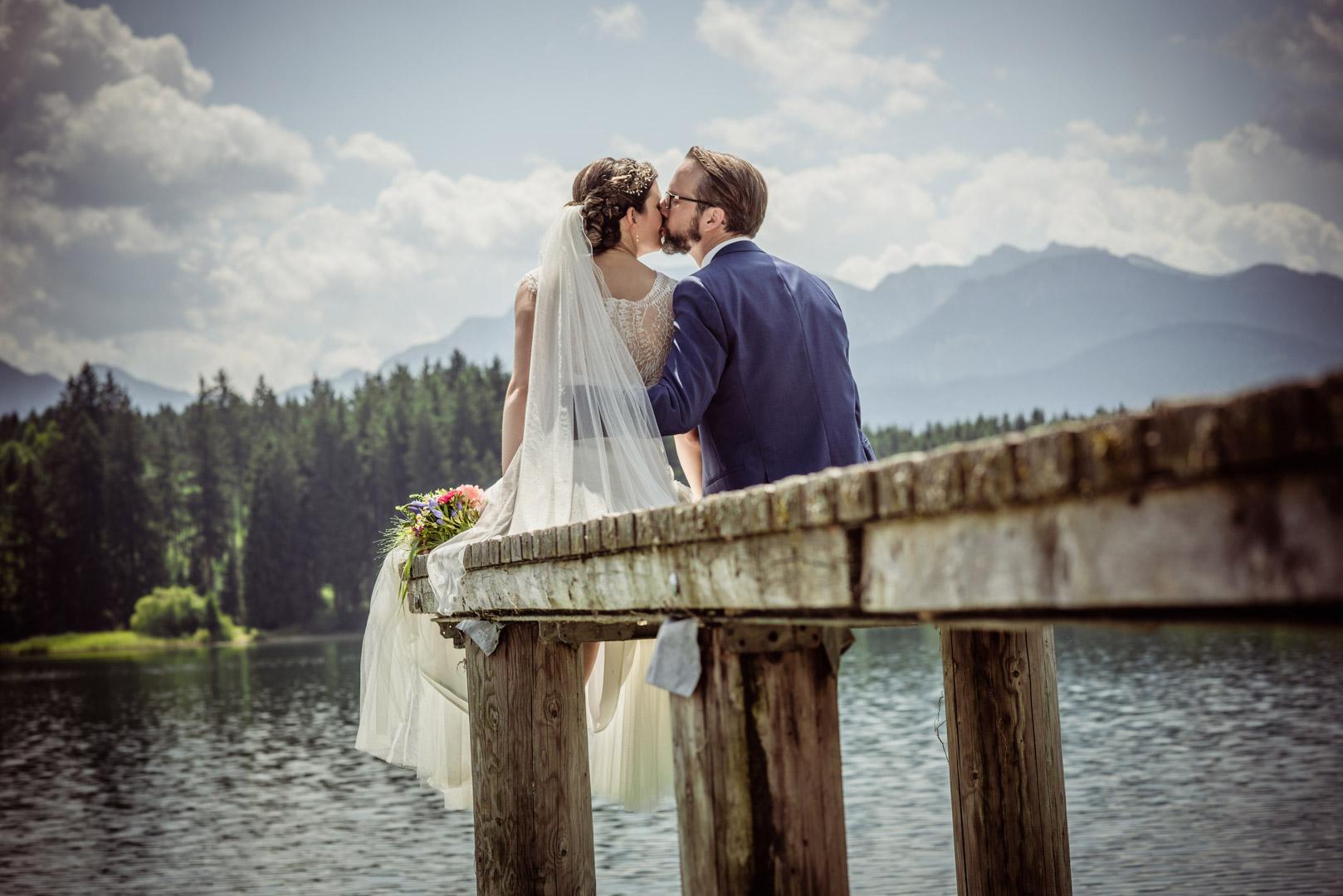 Hochzeitsfotograf am See