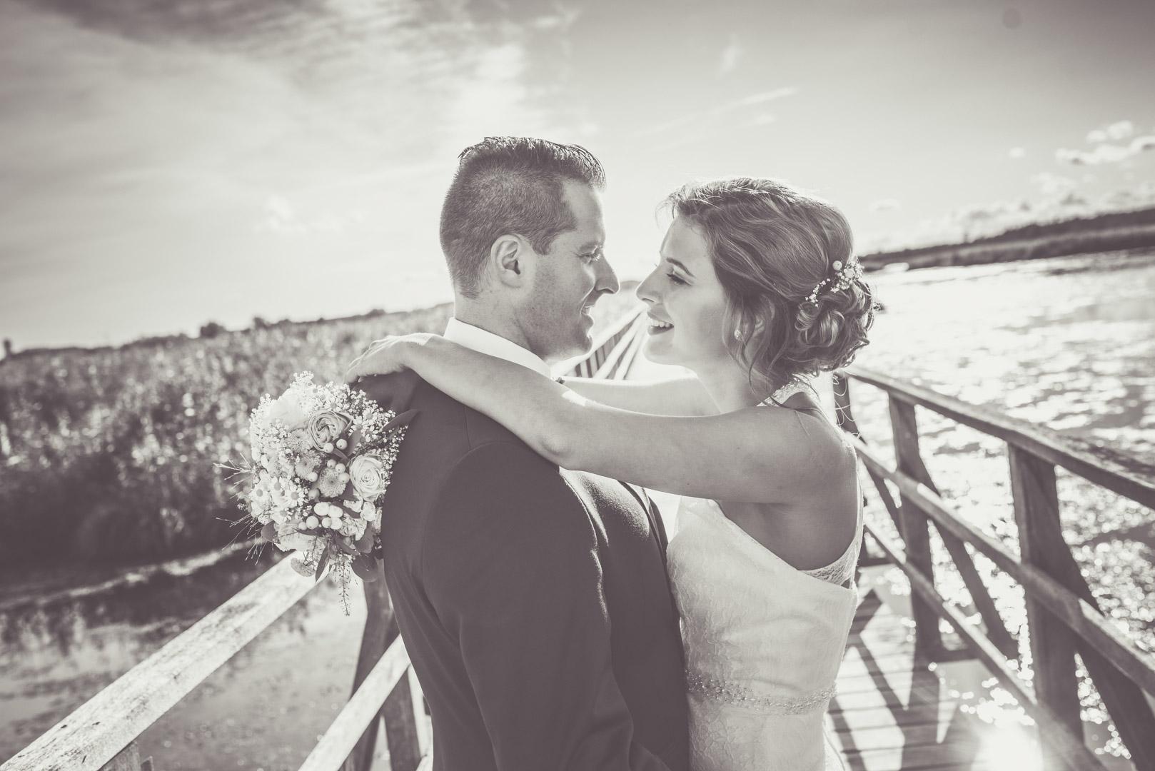 Hochzeitsfotos Federsee, Buchau