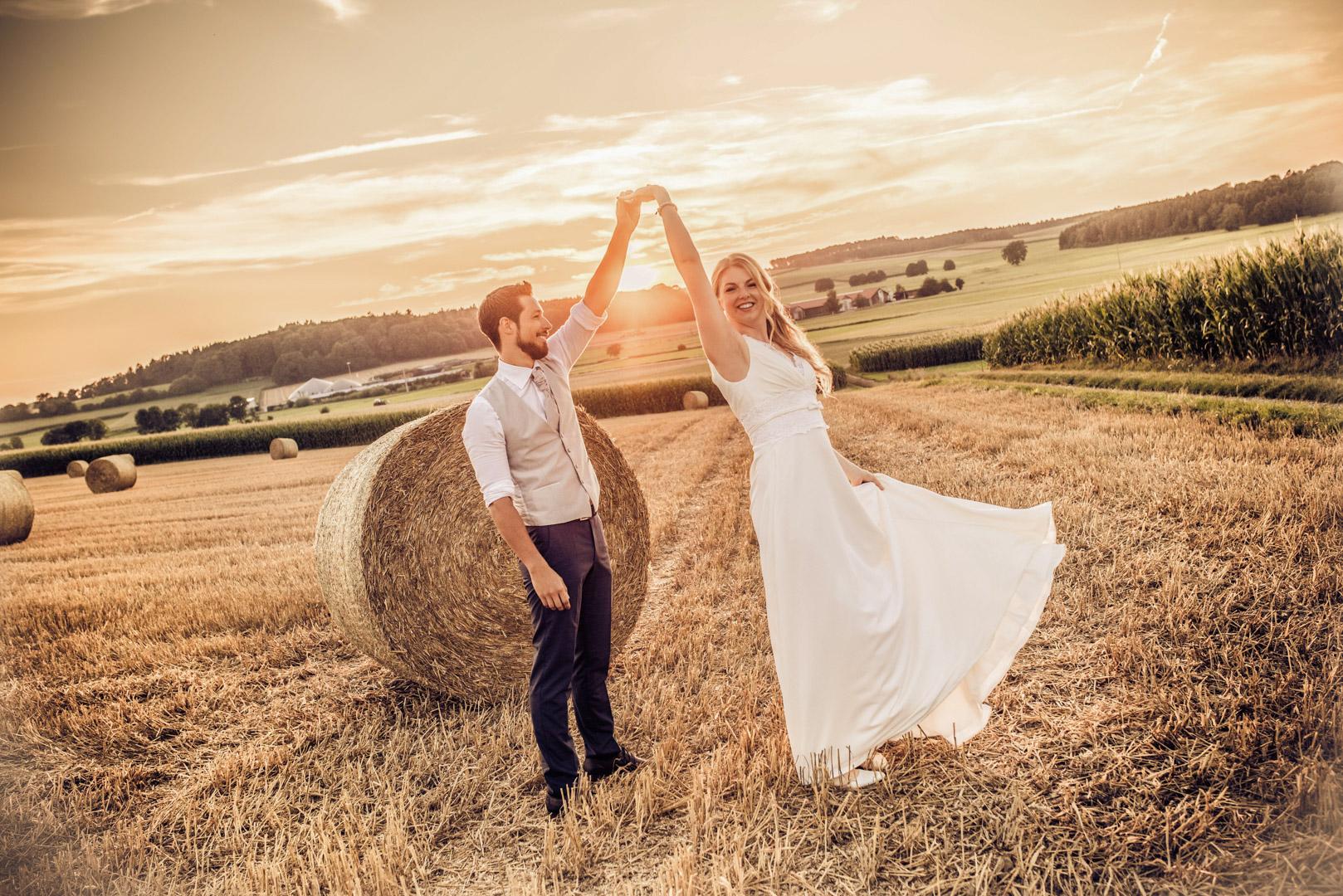 Hochzeitsfotograf Sonnenuntergang