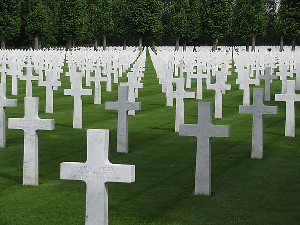 First World War American War Cemetery, France
