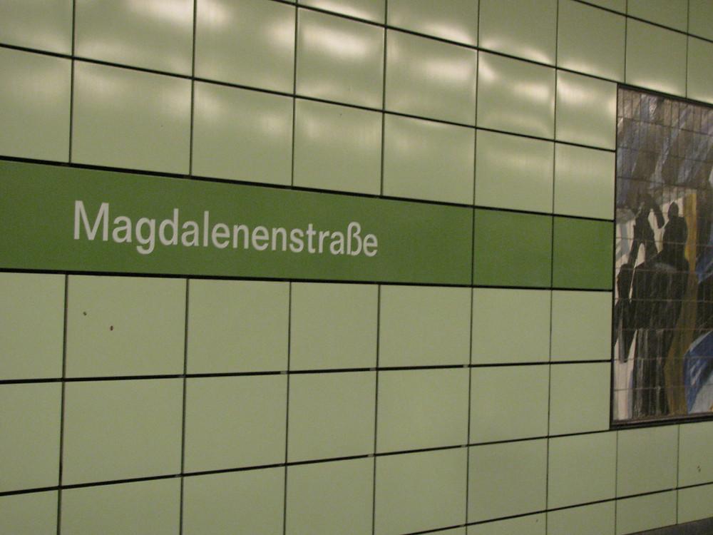Magdalenenstrasse Tube Station, Berlin