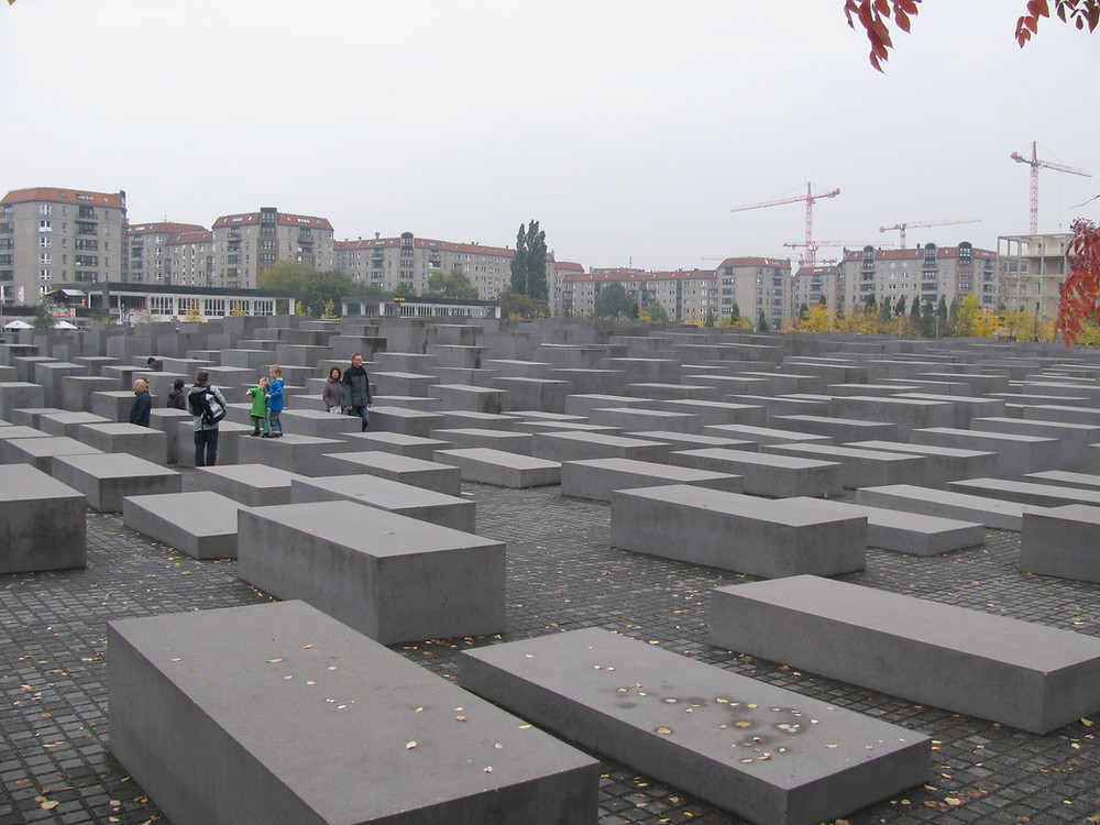 Holocaust Memorial, Berlin. Photo by David Roberts