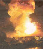 Baghdad bombed 2003