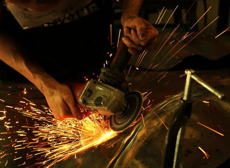 Local Metal Artist Finds Beauty Through Sparks And Flame