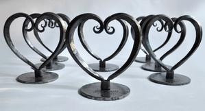 Leslie Tharp, Heart Shaped Trophy