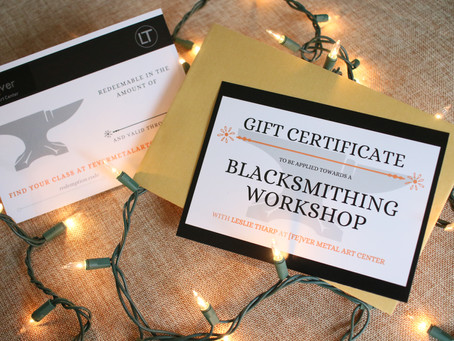 Holiday Gift Certificates are Available now!