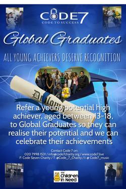 Code 7s Global Graduates Flyer