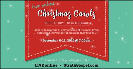 Christmas Carols - Digital Invite -  7pm