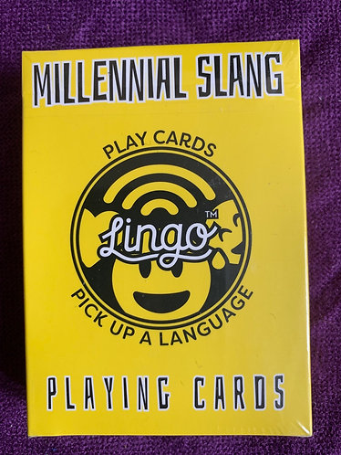 Millennial Slang Playing Cards