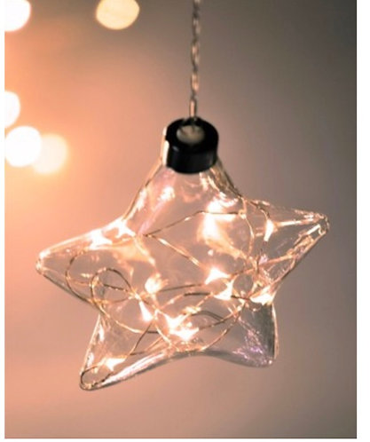 Hanging Glass Star