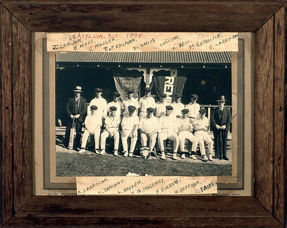 1930 asylum cricket team