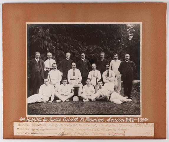 1913 cricket team Mayday Hills