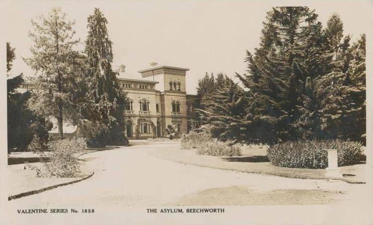 1900 asylum postcard copy