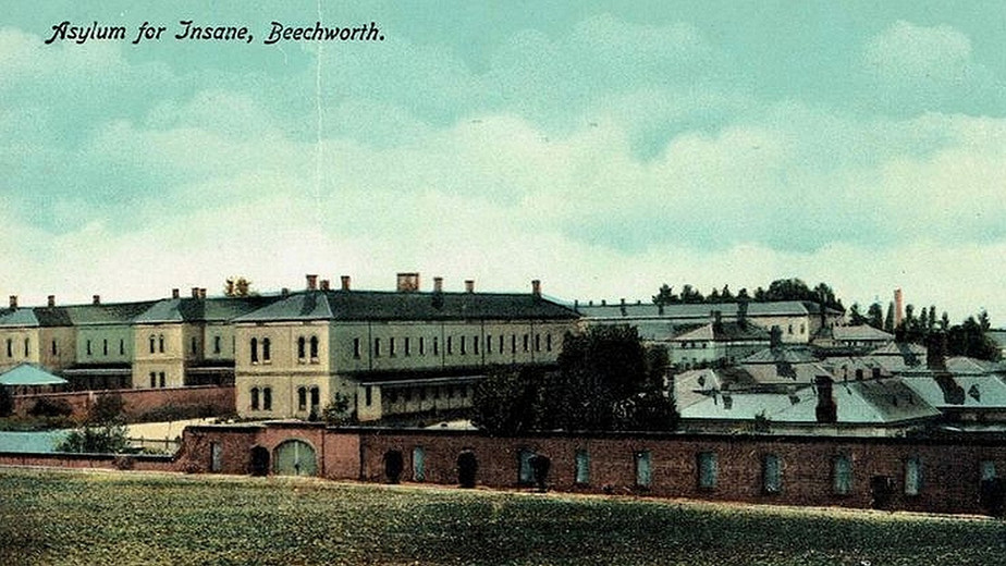1900 asylum at Beechworth