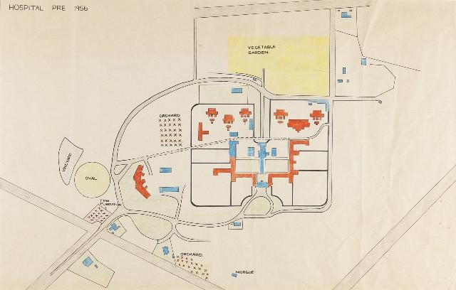 Plan of Mayday Hills, 1920