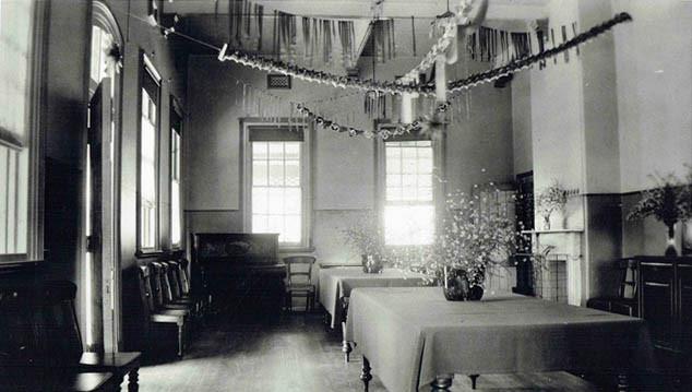 1936 dining room Mayday Hills