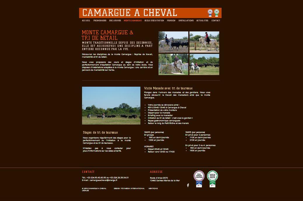 Camargue à cheval